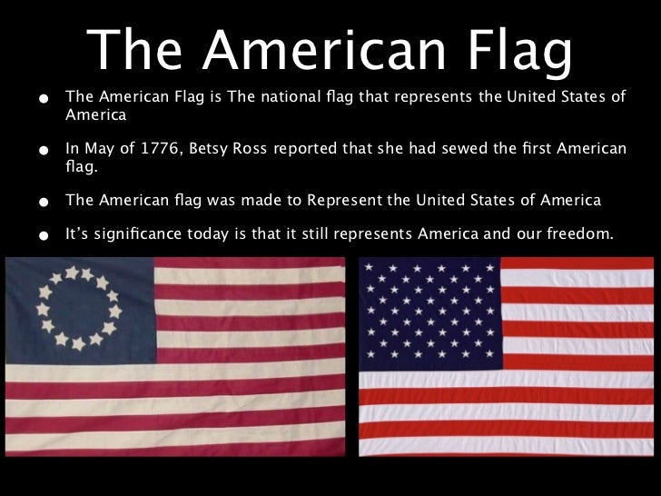 the meaning of the american flag essay