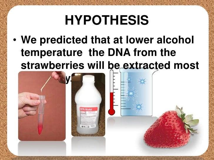 Hypothesis on dna james gilford iii thesis