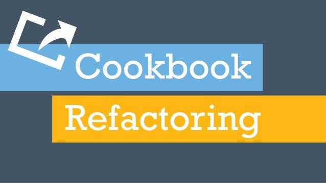 CookbookRefactoringA