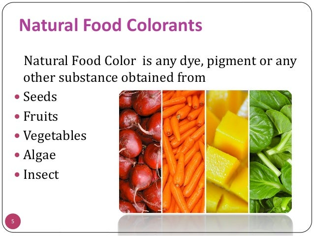Extraction and application of natural food colorants