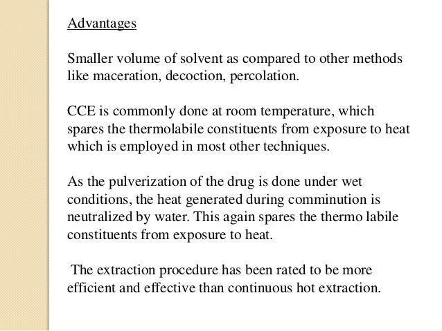 advantages of soxhlet extraction pdf
