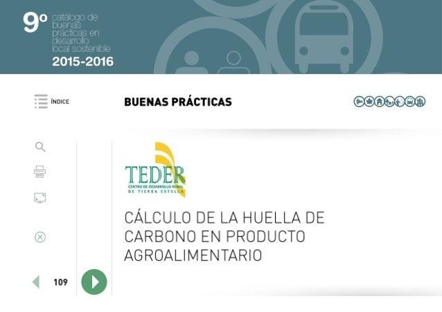 Catálogo IX Premios de buenas prácticas en desarrollo local sostenible 2015 2016