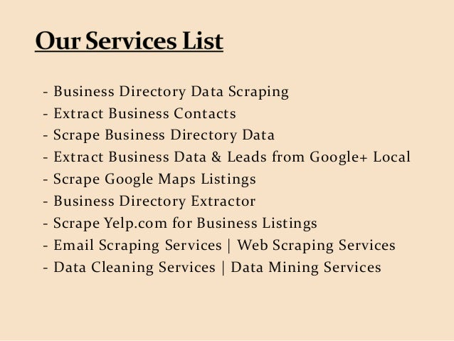 Extract Products Price List from Online Stores