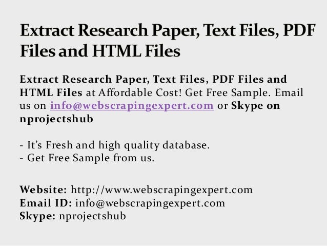 research paper on twitter pdf