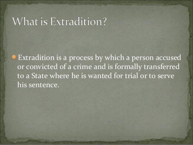 Superior Angelica Butawan Jaclyn Feliciano; 2. Extradition ...