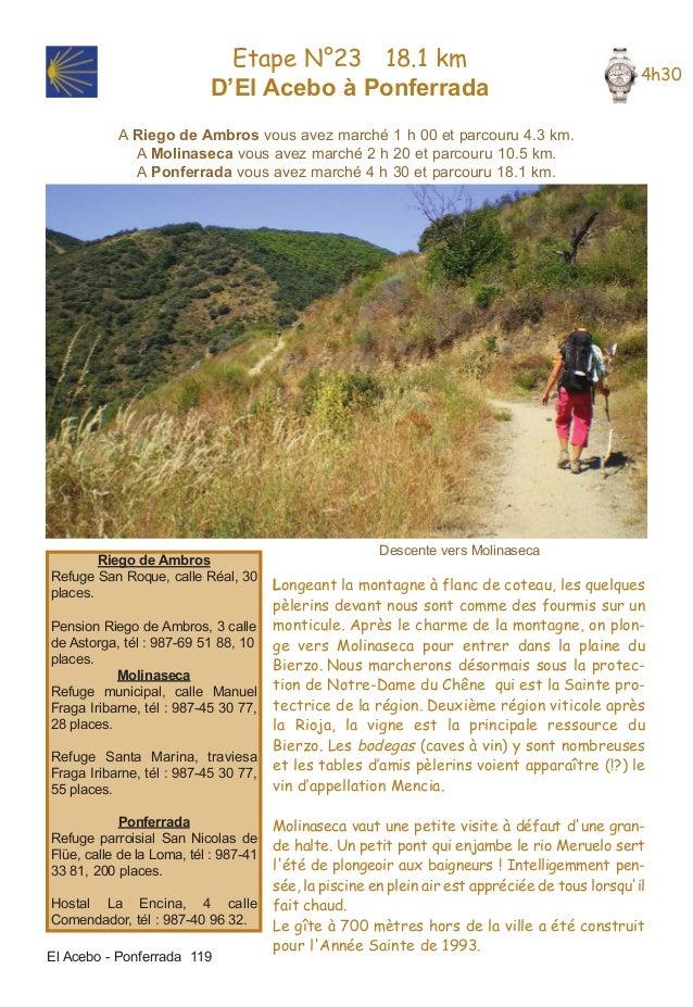 etape 23.qxd    28/01/2009       14:11      Page 1                                  Etape N°23 18.1 km                    ...