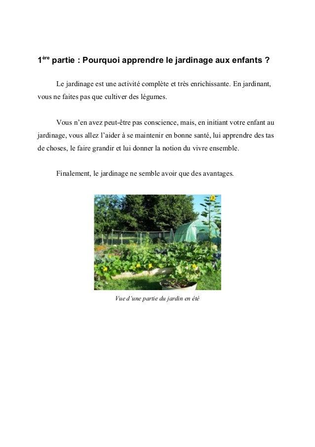 Chapitre 1 : Le jardinage est bon pour la santé- Le jardinage est un sport douxComme vous le savez, le jardinage, tout com...