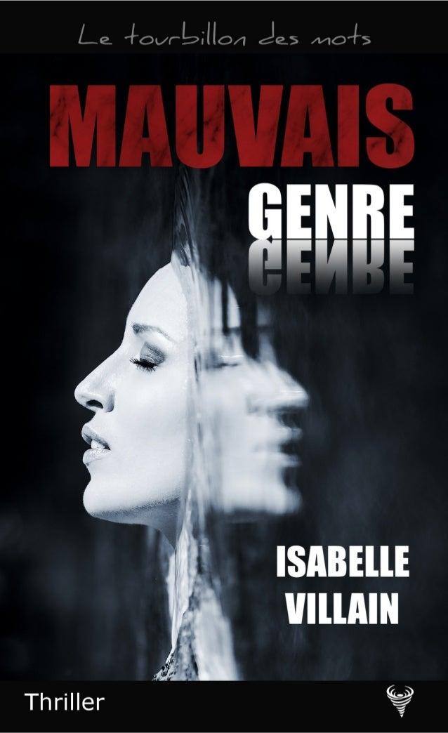 Isabelle Villain Extrait de Mauvais genre Le Code de la propriété intellectuelle n'autorisant, aux termes de l'article L. ...