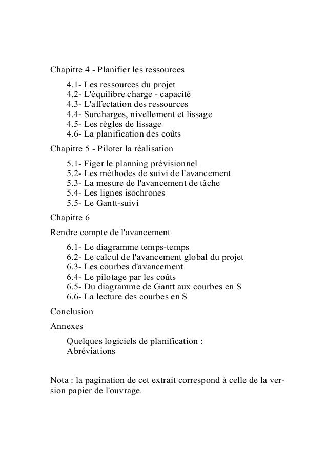 Comprendre la planification de projets ccuart Choice Image