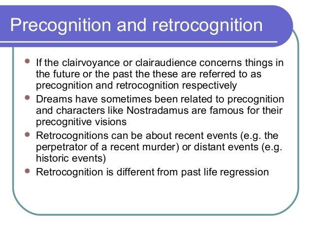 Estrasensory Perception