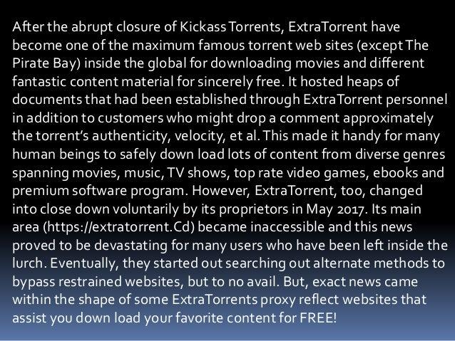 extratorrents unblock 2019