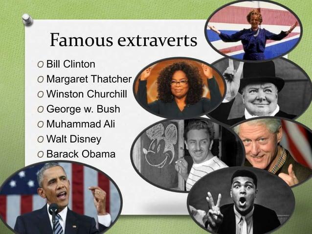 Extravert personality
