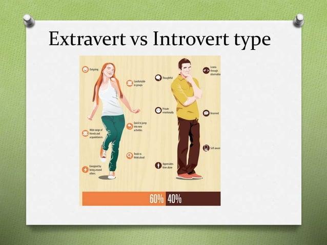 Extravert vs Introvert type