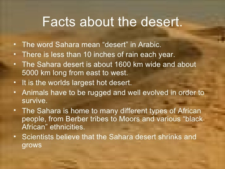 Image result for sahara desert facts