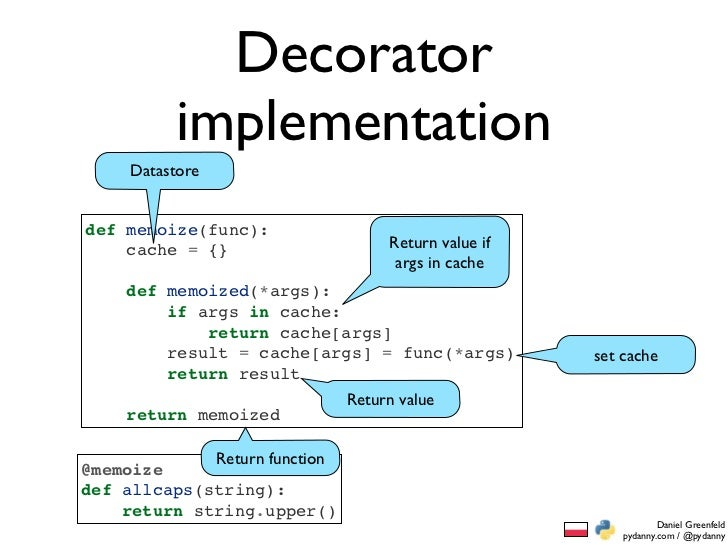 An extreme talk about the zen of python for Decorator python