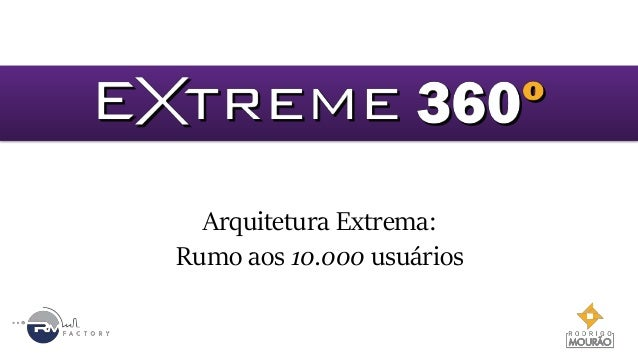 Arquitetura Extrema: Rumo aos 10.000 usuários