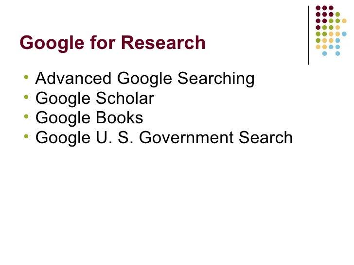Extreme Googling: Tips & Tricks For Expert Searching Slide 2