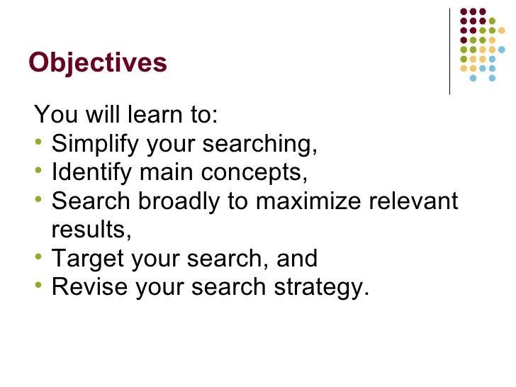 Extreme Googling: Tips & Tricks For Expert Searching Slide 3