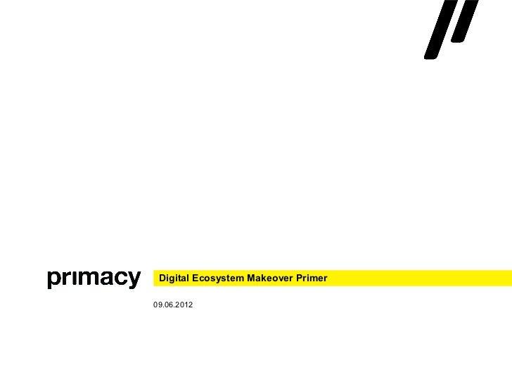 Digital Ecosystem Makeover Primer09.06.2012