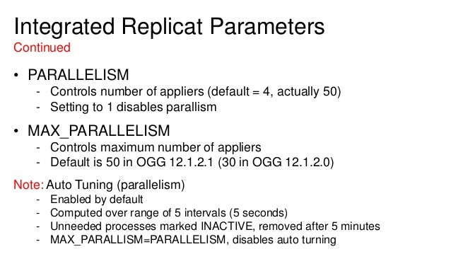 Extreme Replication Performance Tuning Oracle Goldengate