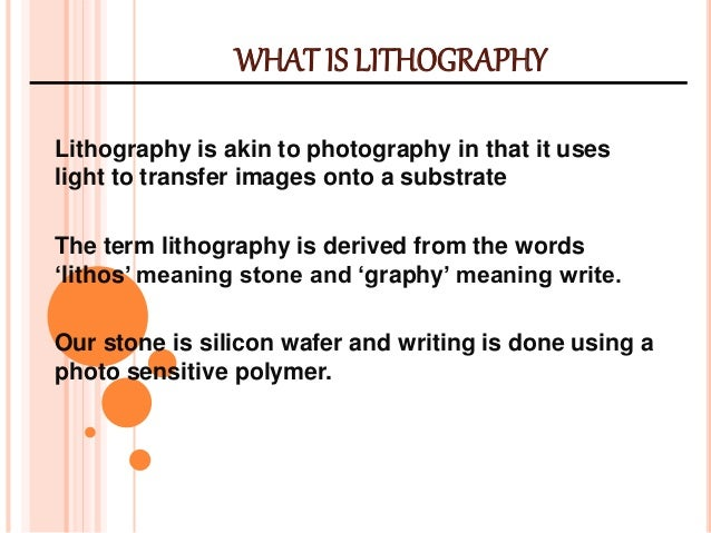 lithography disadvantages What is sla rapid prototyping and stereo lithography advantages and  disadvantages rapid prototyping is a new technology integrating computer- aided.