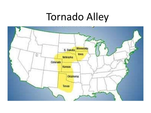 AOSS 102 Why is the Central Plains of the United States most suscept