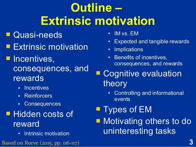 extrinsic learning