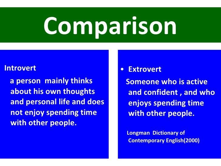 Extrovert definition