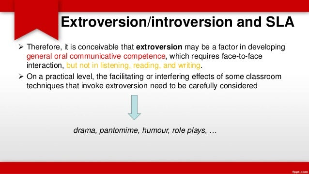 Extraversion – Intraversion
