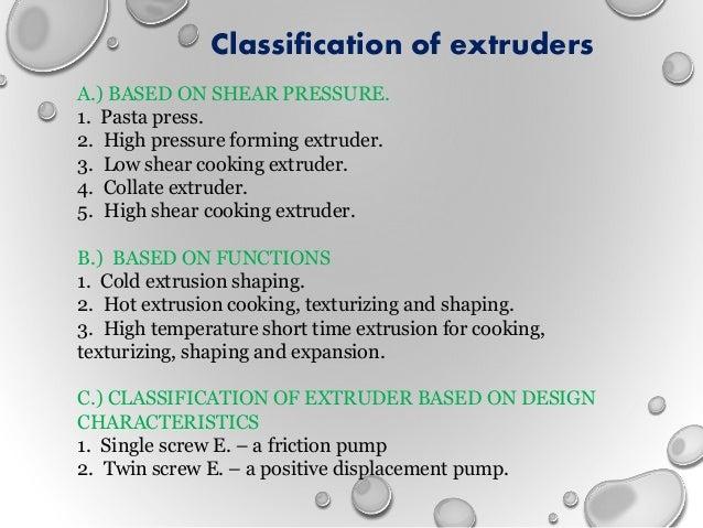 Extrusion technology mamta
