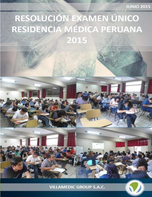 www.villamedicgroup.com 1 | P á g i n a RESIDENTADO MÉDICO 2015