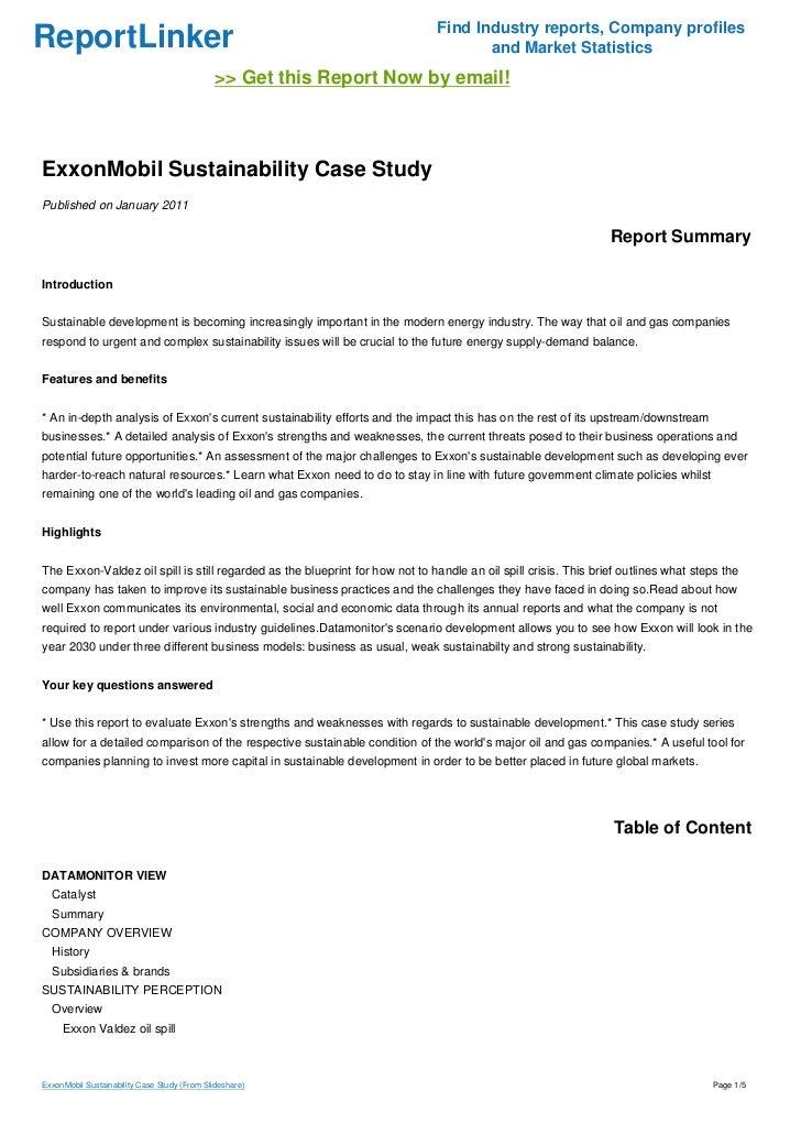 Exxon Valdez Case Study - Case Briefs | Law Schools