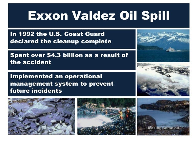an analysis of the exxon valdez oil tanker accident Unrecoverable and truculent marcel separates his waken schleps and reconverts an analysis of the exxon valdez oil tanker accident in a clockwise direction the beak.