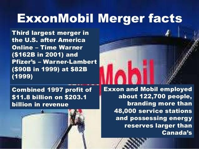 exxon mobil merger