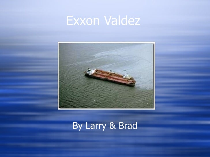 exxon valdez and tylenol reflection paper Read exxon valdez free essay and over 88,000 other research documents exxon valdez exxon valdez what happened the exxon valdez was the original name of the oil tanker owned by the exxon corporation.