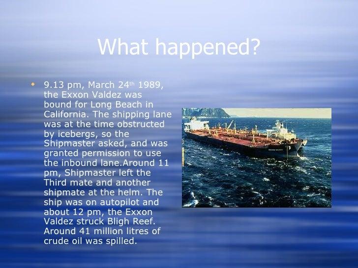 Image result for exxon valdez 1989