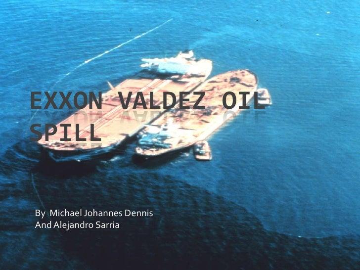 exxon valdez oil spill location