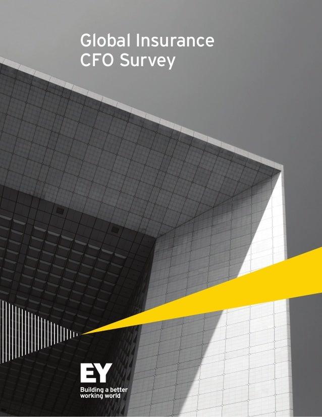 Global Insurance CFO Survey