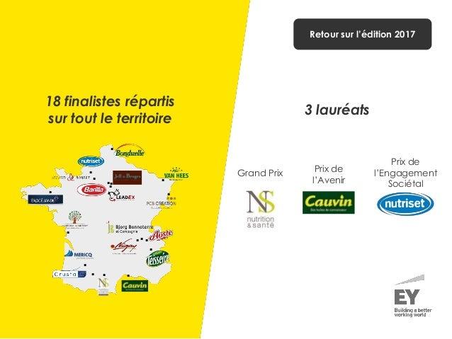 Grand Prix Prix de l'Engagement Sociétal Prix de l'Avenir                  18 finalistes répartis sur to...