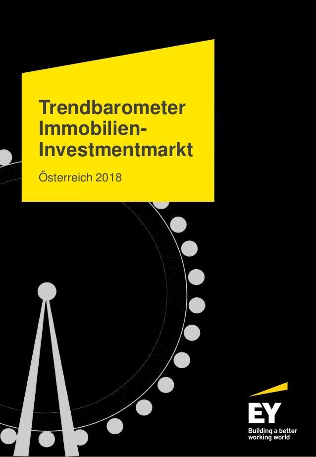 Trendbarometer Immobilien- Investmentmarkt Österreich 2018