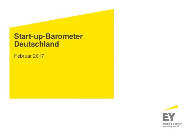 Start-up-Barometer Deutschland Februar 2017