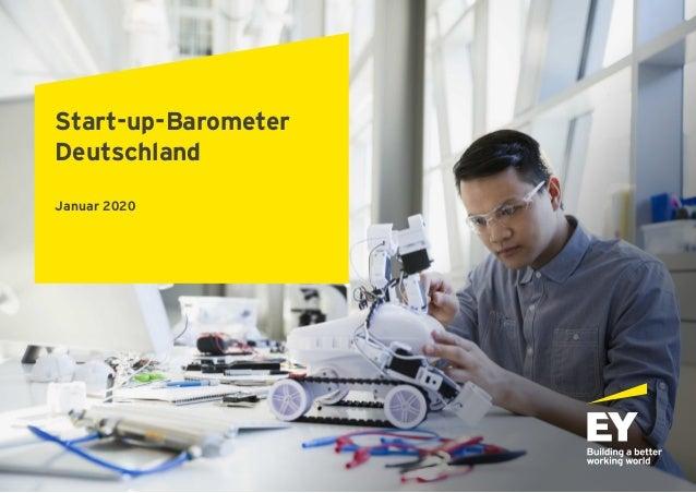 Start-up-Barometer Deutschland Januar 2020