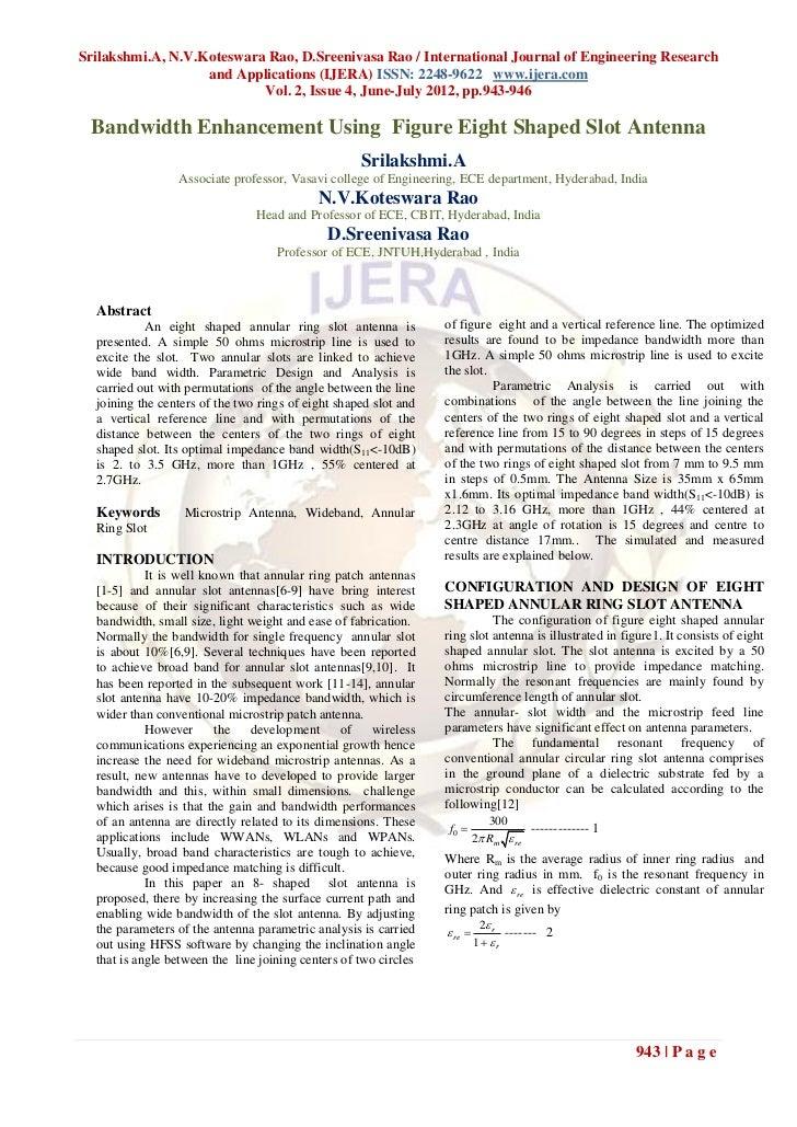 Srilakshmi.A, N.V.Koteswara Rao, D.Sreenivasa Rao / International Journal of Engineering Research                   and Ap...