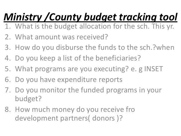 Eyc Budget Tracking Workshop On 26