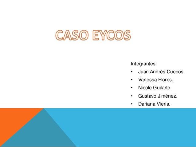 Integrantes: •  Juan Andrés Cuecos.  •  Vanessa Flores.  •  Nicole Guilarte.  •  Gustavo Jiménez.  •  Dariana Vieria.