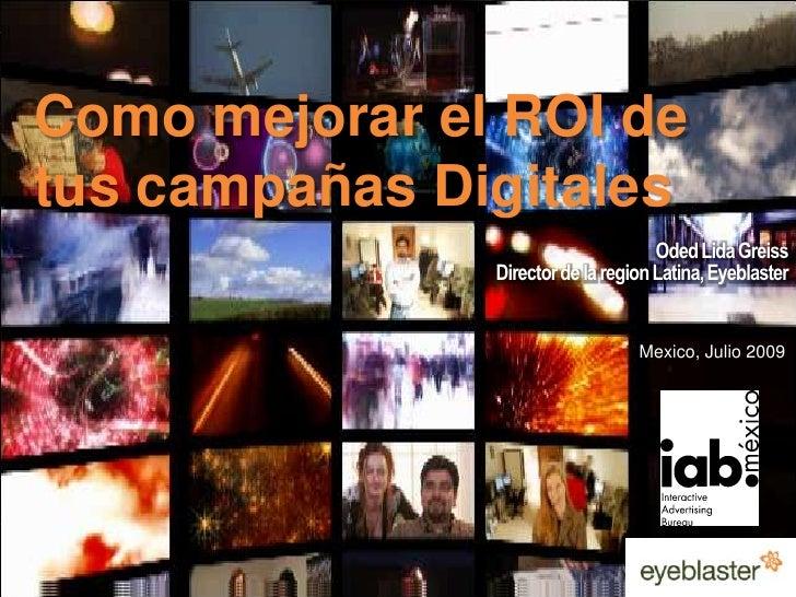 Primary colors<br />EB Orange 246/137/51<br />Como mejorar el ROI de tus campañas Digitales<br />EB Green 52/70/13<br />EB...