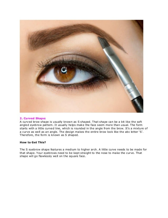 Eyebrows Shaping Tips