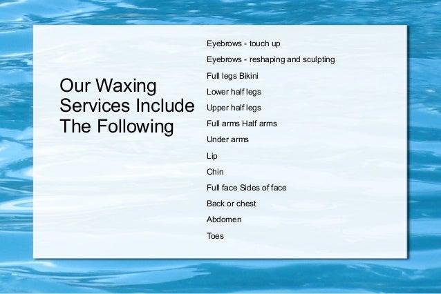 Eyebrow Waxing Services Lexington SC