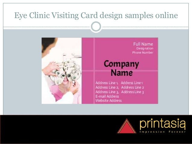 online card design