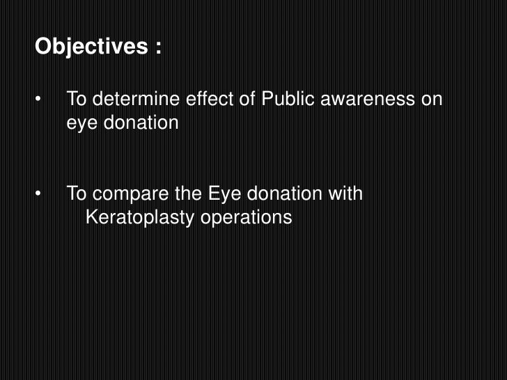 Essay eye donation keratoplasty complications